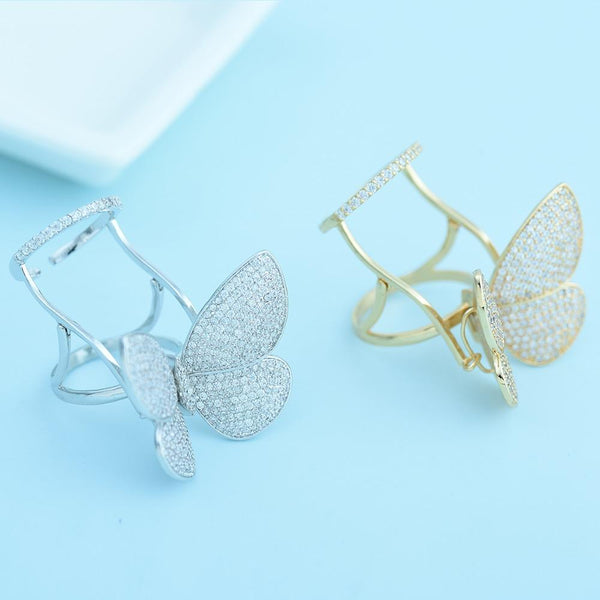 Bella Butterfly Ring