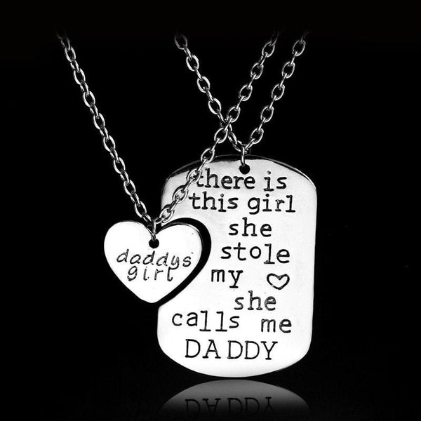 Daddy's Girl Necklace Pair Promo