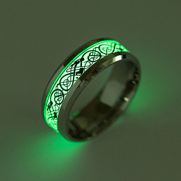 Luminite Dragon Ring