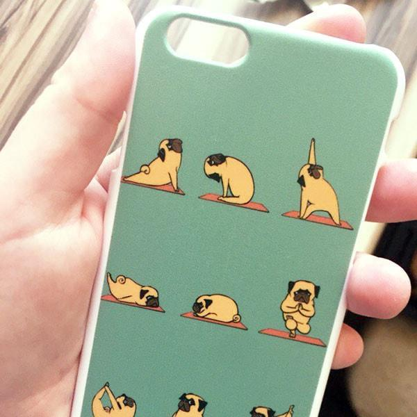 Yug Ogie - Yoga Pug iPhone Case