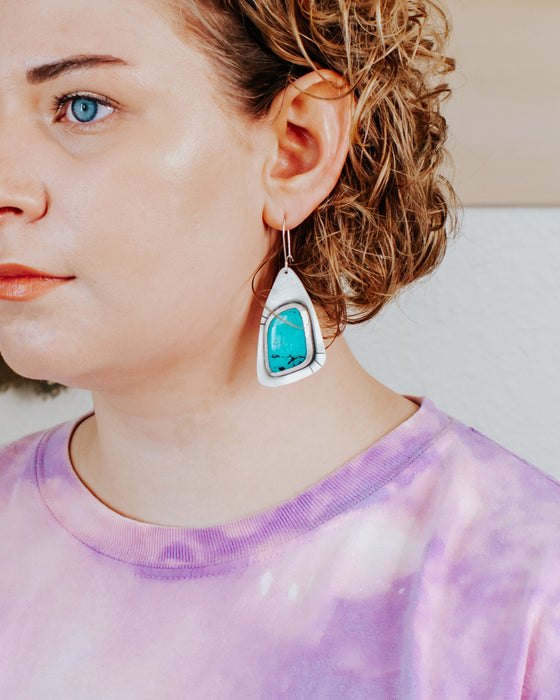 Snow Day Statement Earrings