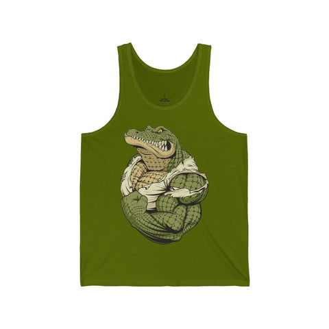 Strong Croc - Unisex Tank - Mind Bend Apparel