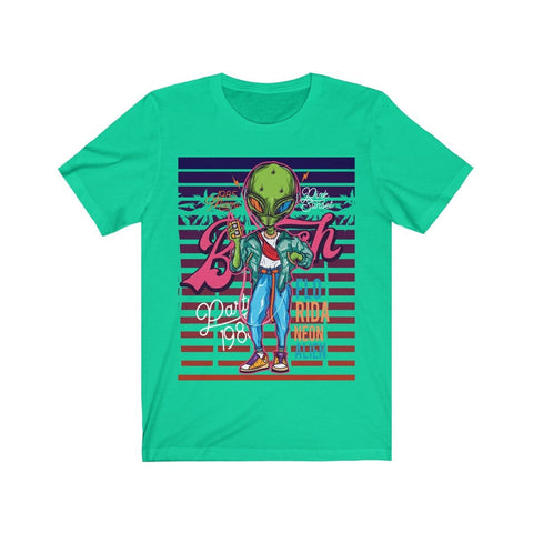 Florida Neon Alien - T-shirt - Mind Bend Apparel