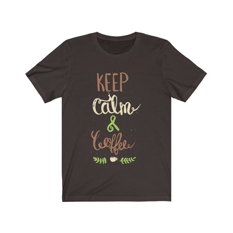 Keep Calm & Coffee - T-shirt - Mind Bend Apparel