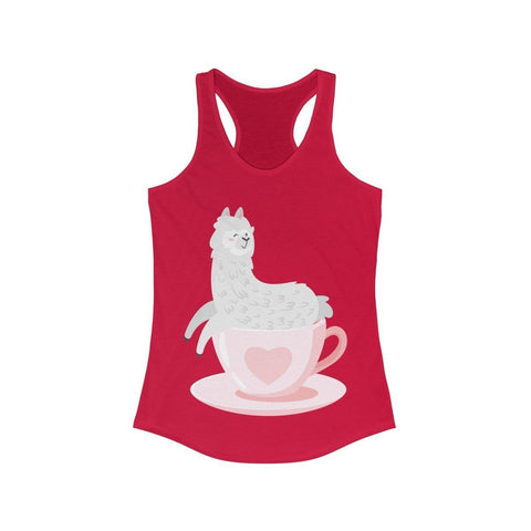 My Daily Cup of Lama - Tank Top - Mind Bend Apparel