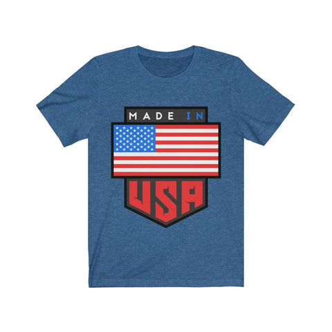 Patriot Made In USA - T-shirt - Mind Bend Apparel