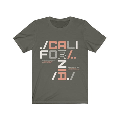 New California - T-shirt - Mind Bend Apparel
