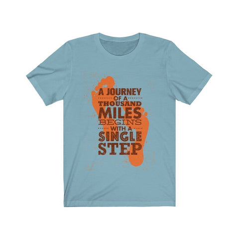 A Journey of a Thousand Miles - T-shirt - Mind Bend Apparel