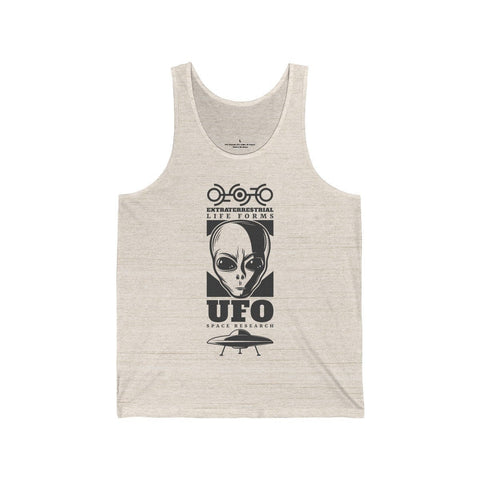 Extraterestrial Life Forms UFO Space Research - Unisex Tank - Mind Bend Apparel