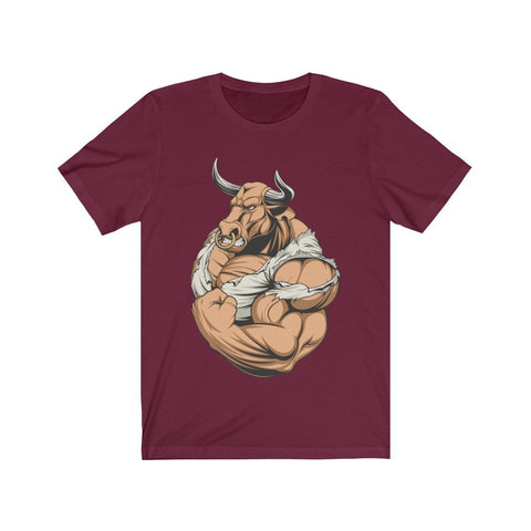 Strong Taurus - T-shirt - Mind Bend Apparel