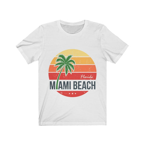 Welcome To Florida Miami Beach - T-shirt - Mind Bend Apparel