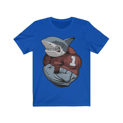 Strong Shark - T-shirt - Mind Bend Apparel