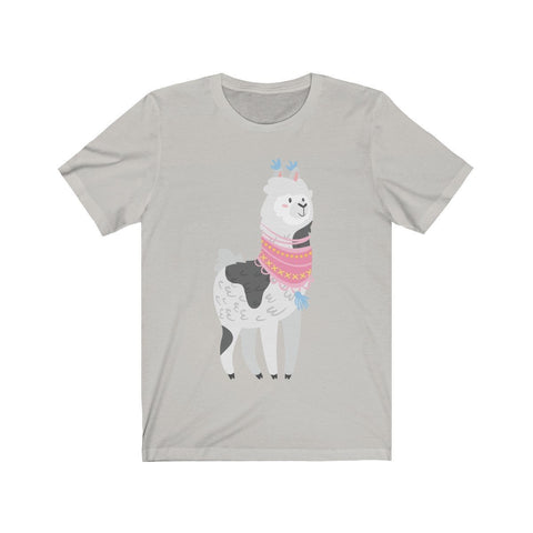 Lama Enjoying Being Outside - T-shirt - Mind Bend Apparel