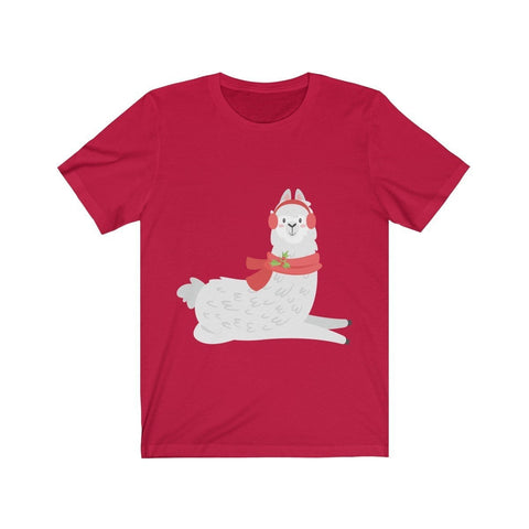 Lama Ready for Cold Season - T-shirt - Mind Bend Apparel