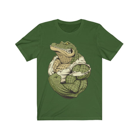 Strong Croc - T-shirt - Mind Bend Apparel