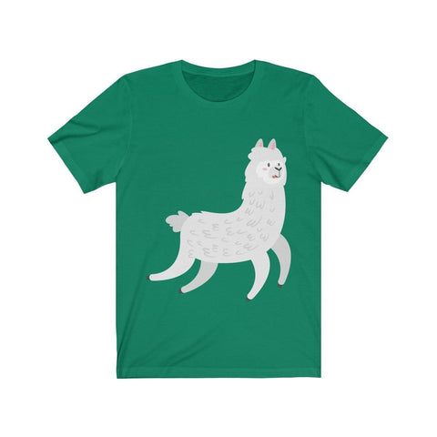 Lama Wondering Around - T-shirt - Mind Bend Apparel