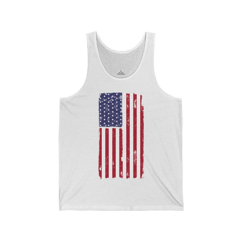Patriot USA American Flag - Unisex Tank - Mind Bend Apparel