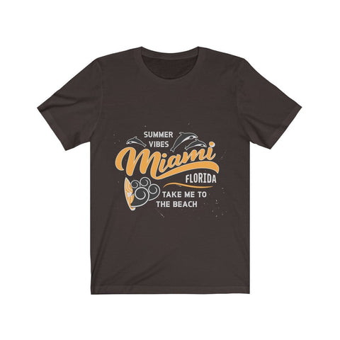 Summer Vibes Miami Take Me To The Beach - T-shirt - Mind Bend Apparel