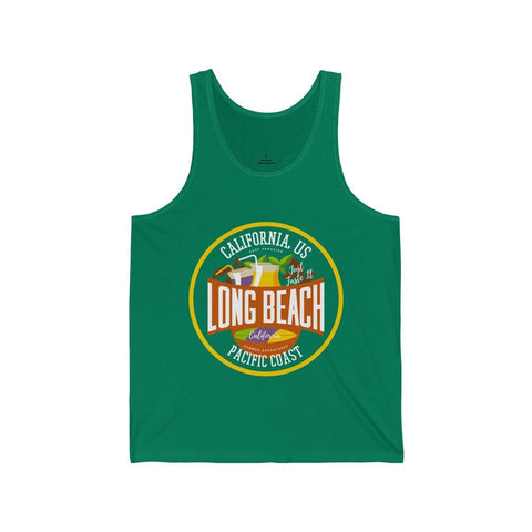 California Pacific Coast Long Beach - Unisex Tank - Mind Bend Apparel