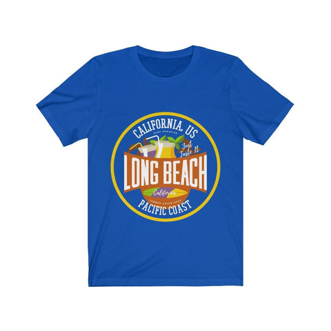California Pacific Coast Long Beach - T-shirt - Mind Bend Apparel