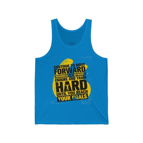 Continue To Move Forward - Unisex Tank - Mind Bend Apparel