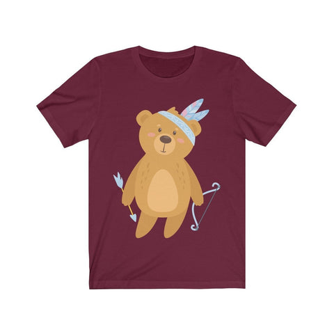 Teddy Bear Hunting - T-shirt - Mind Bend Apparel