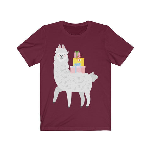 Lama Offering Gifts - T-shirt - Mind Bend Apparel