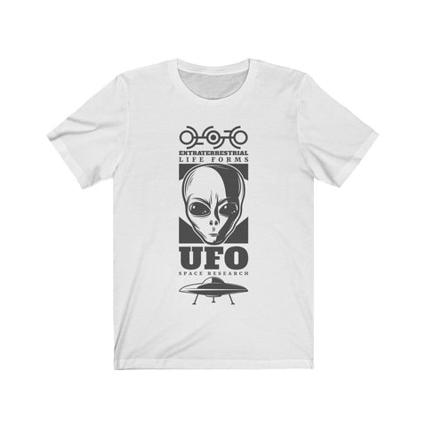 Extraterestrial Life Forms UFO Space Research - T-shirt - Mind Bend Apparel