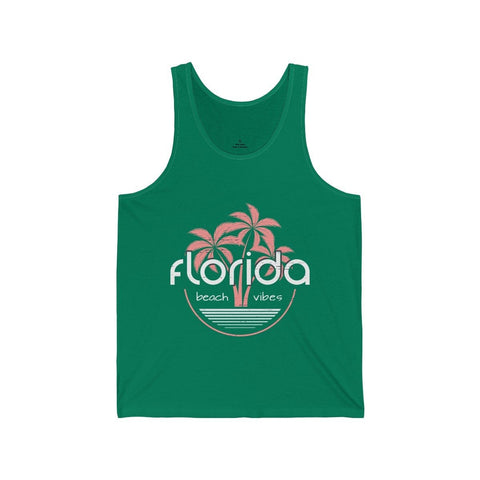 Florida Beach Vibes - Unisex Tank - Mind Bend Apparel