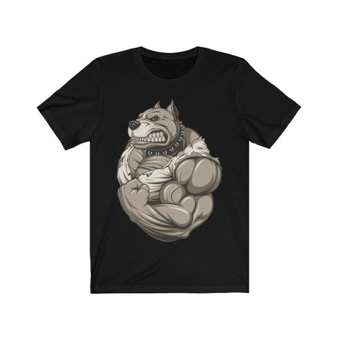 Strong Pitbull - T-shirt - Mind Bend Apparel