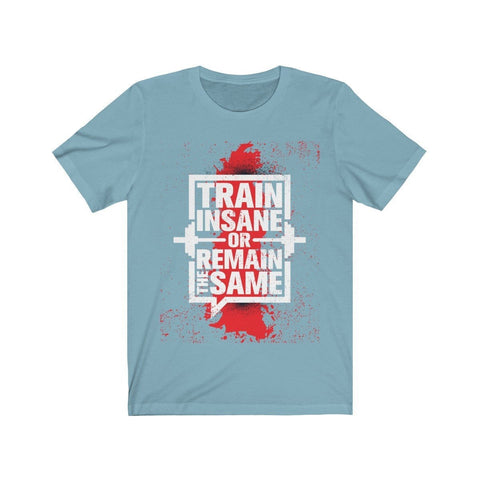 Train Insane Or Remain The Same - T-shirt - Mind Bend Apparel