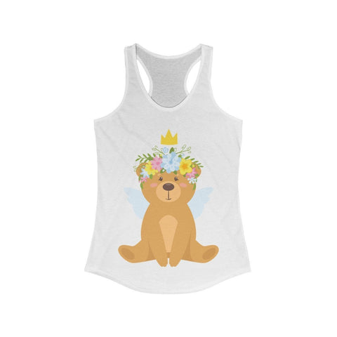 Teddy Bear Being Royal - Tank Top - Mind Bend Apparel