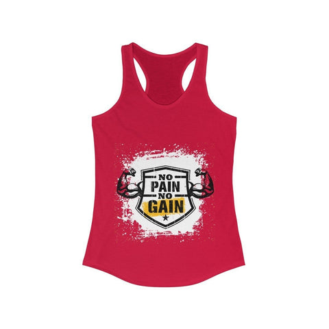 No Pain No Gain - Tank Top - Mind Bend Apparel