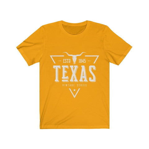 Texas New ESTD 1845 Vintage Series - T-shirt - Mind Bend Apparel