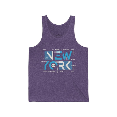 Modern New York 1976 - Unisex Tank - Mind Bend Apparel