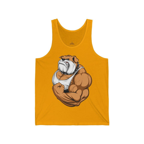 Strong English Bulldog - Unisex Tank - Mind Bend Apparel