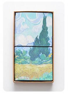 The Van Gogh Traveller's notebooks - Cypresses