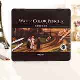 Watercolor Pencils - 24/36/48/72 color set options
