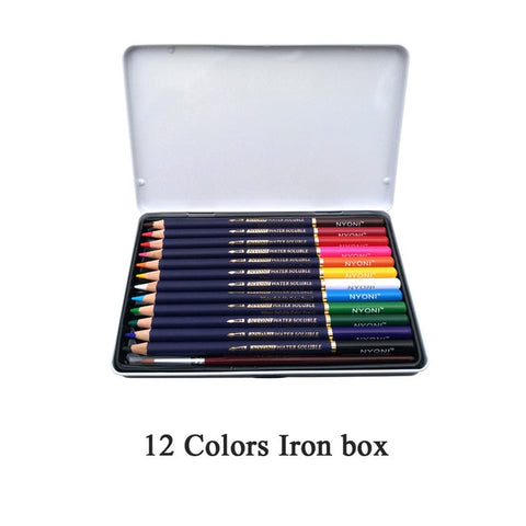Watercolor Travel Set - 12/24/36/48/72 Colors