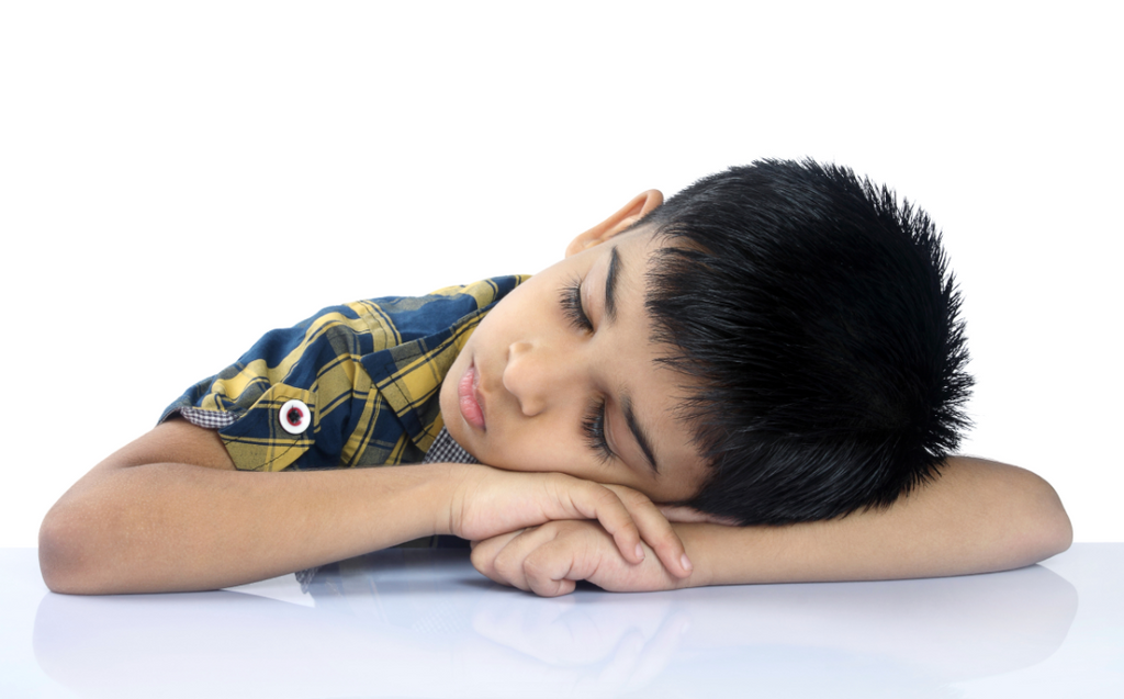Sleep pattern in kids