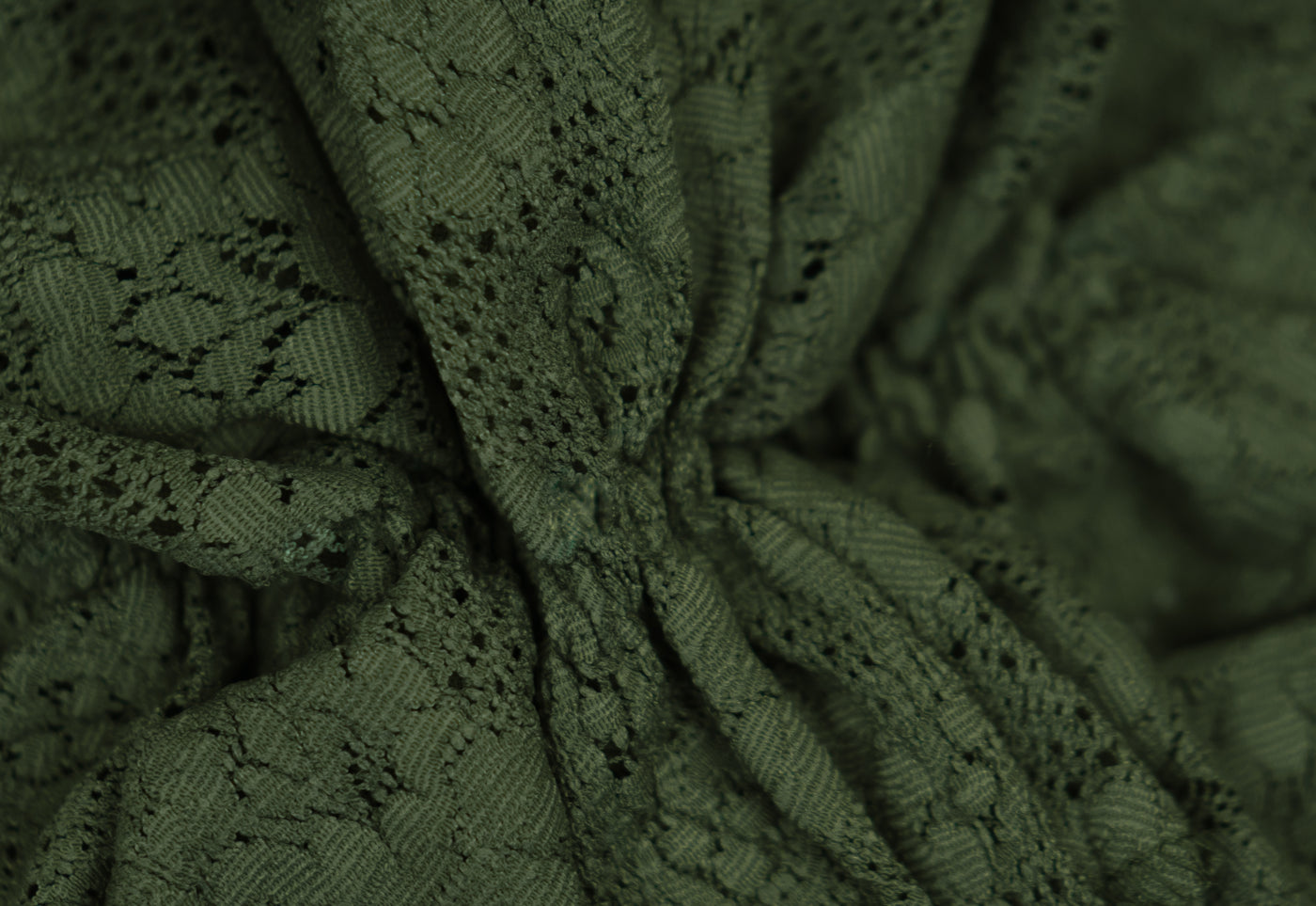 TH Olive green textured