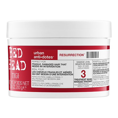 TIGI BED HEAD URBAN ANTI-DOTES RESURRECTION HAIR MASK 200G