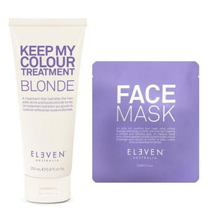 ELEVEN AUSTRALIA Keep My Colour Blonde Shampoo + FREE Face Mask