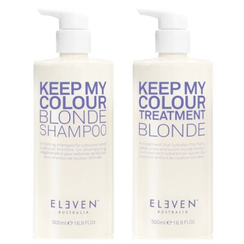 ELEVEN AUSTRALIA Keep My Colour Blonde Shampoo & Conditioner 500ml