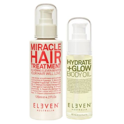 ELEVEN AUSTRALIA Miracle Treatment + FREE Hydrate+Glow Body Oil