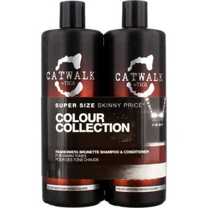 TIGI CATWALK FASHIONISTA BRUNETTE SHAMPOO & CONDITIONER TWEEN SET