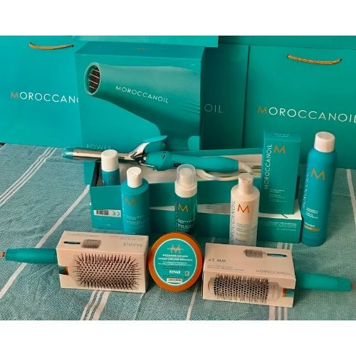 Premium Moroccanoil Home Hair Kit