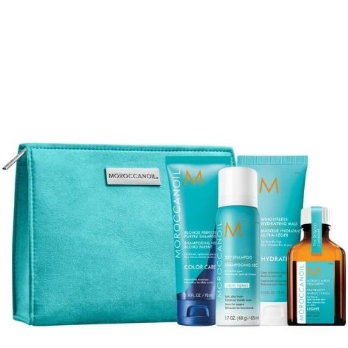 Moroccanoil Blonde On The Go Kit