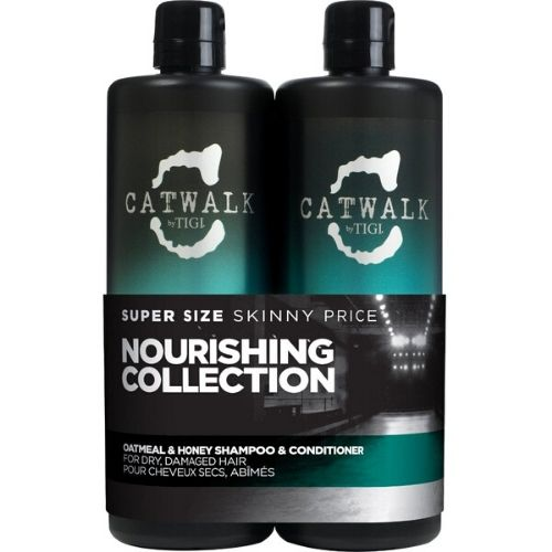 TIGI CATWALK HONEY & OATMEAL SHAMPOO & CONDITIONER TWEEN SET 750ML