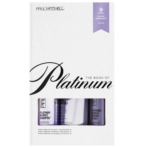 Paul Mitchell The Book Of Platinum Gift Set